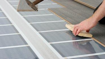 Podlahové vykurovanie elektrickými fóliami