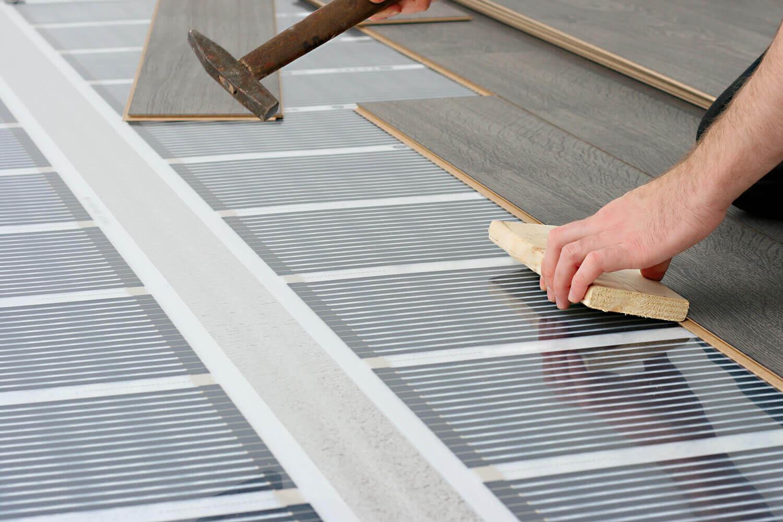 inštalácia elektrického podlahového vykurovania